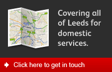 Covering all of Leeds for domestic services